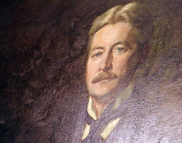 Portrait of Frederick Stickney, architect of the Pollard Memorial Library. Artist: Ernest L. Ipsen.