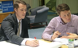 Data Analyst Conor Baldwin and Better Buildings Program Manager Tom Heslin.
