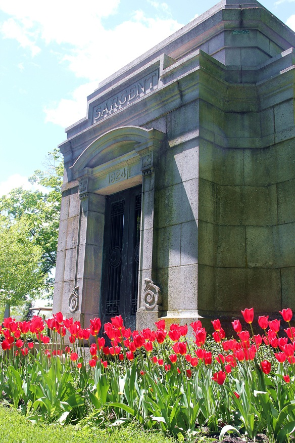 The Sargent family mausoleum.
