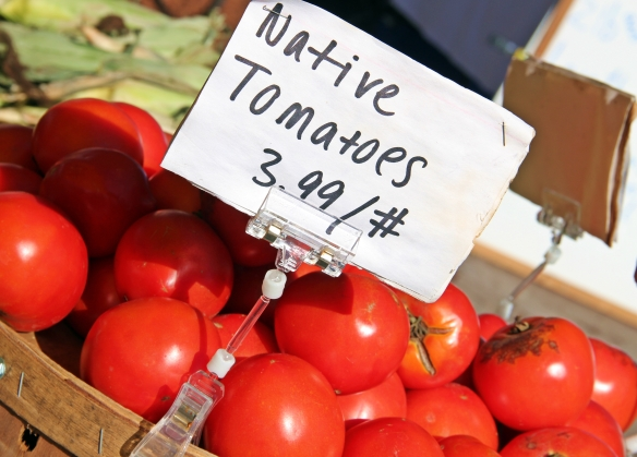 Delicious tomatoes from Billerica's Rome Capobianco (Price Farm).