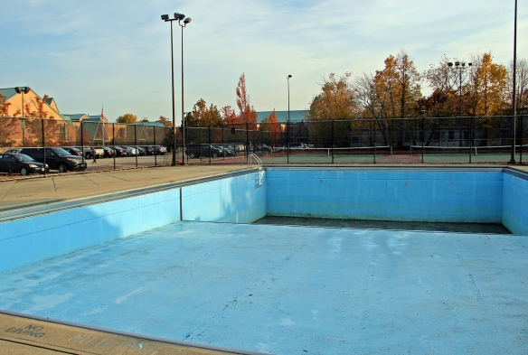 The soon-to-be filled-in O'Donnell pool.