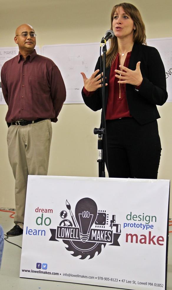 Massachusetts Creative Economy Industry Director Helena Fruscio.
