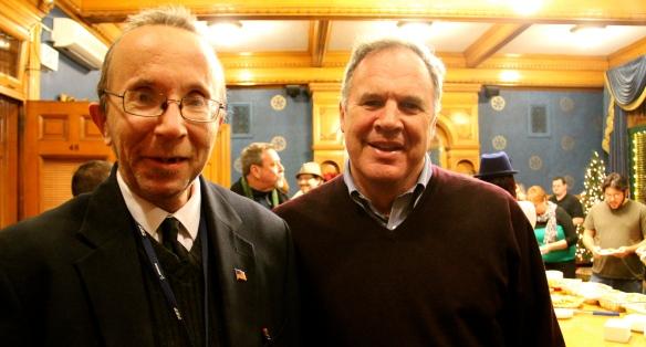 John Corrigan and Bernie Lynch