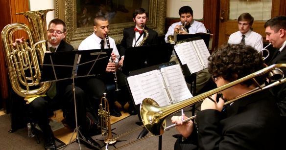 John McGovern's musicians from Lowell High School